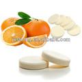 Vitamina C efervescente de la bebida de la tableta