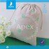 drawstring gift hessian bag