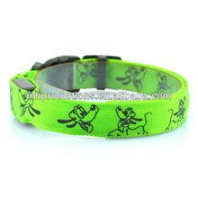 LED service dog collar