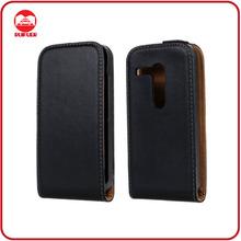 High Quality Luxury Black 100% Real Genuine Leather Flip Case for Motorola Moto G