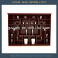 casa de madeira de móveis de exibição para a coleta de exibição
