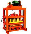 Crazy venda! Qtj4-40 semi automático de economia de mão de obra de bloco de concreto que faz a máquina baixo preço de fábrica