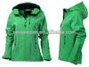 Green Womens Softshell Ski Jacket