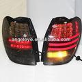 2010-2013 anno Captiva ha portato la luce posteriore a led luci posteriori di colore nero