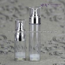 15ML,30ML Cosmetic Clear Bottle Packaging Plastic Bottles