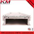 alto quatity 6000 de aluminio de extrusión de la serie radiador perfil extrusionado