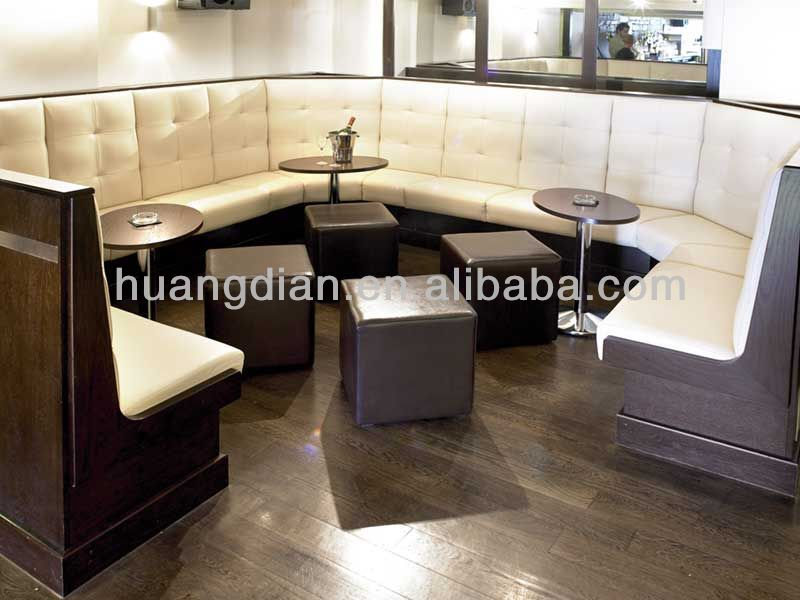 Modern Bar Club Booth Seating Hot Sale Night Club Banquette Seat Restaurant F