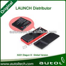 Professional Launch Diagnostic Tool X431 Diagun3 Wide Coverage European / Asian/ American Cars