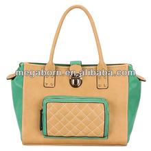 Embroider Stylish Big Fashion Women Leather Handbags
