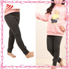 A664-2 professional leggings manufacturers girls winter leggings fleece 100% cotton children tights and legging