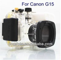 For Canon WP-DC48 Waterproof Underwater Housing Case G15 Digital Camera