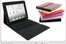 Colorful Wireless Bluetooth Keyboard macbook pro tablet genuin Leather Case for iPad2
