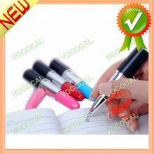 10PCS Lipstick Style Ballpoint Plastic Pen