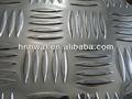 acier plat checkered plancher en aluminium