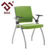 Green color fold conference chair