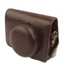Leather Digital Camera Case/Bag/Cover for Panasonic Lumix DMC-GF3