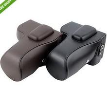 Leather Camera Case Bag for Nikon SLR D5100 D5200