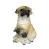 Polyresin standing dog garden decoration--dog 18