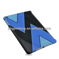 for ipad Air hard cover custom, high shinny customized back cover case