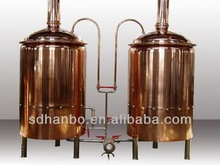 700L red copper beer pouring machine/china gel mixing tank