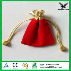 Mini Velour Drawstring Bags With Best Quality (directly from factory)