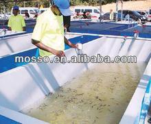 fabricantes de fibra de vidrio de fibra de vidrio del tanque de la acuicultura