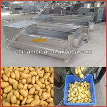 High Productivity Automatic price of potato cleaing and peeling machine Cassava Peeling Machine Sweet Potato & Ginger Cleaning