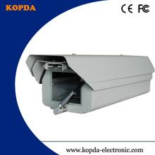 outdoor IP66 cctv camera housing with heater Fan Wiper sun-shield