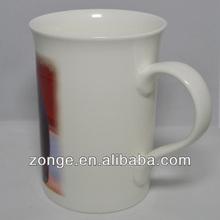 New Bone China Clay Mug for Sublimation