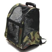2014 Camouflage Rolling Dog Bag