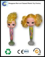 Hot selling plastic novelty customized logo ballpen