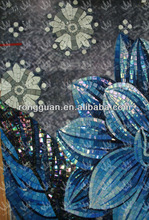 glass mosaic tile artwork wall background picture pattern as house building material