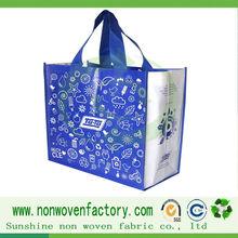2014 promotional reusable nonwoven shopping bag