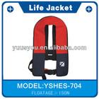 Multi pocket fishing life vest, floating jacket waist life vest, life vest for surfing