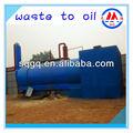 Bien- recibido de pirólisis refineing aceite de la máquina en china
