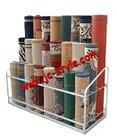 carpet rug display stand/shop yoga mats display rack for sales promotion/custom metal pet mats storage rack