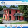 luxury light steel prefabricated house/villa