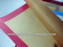 heat resistanct silicone fiber glass anti slip rubber baking mat