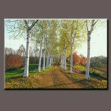 Beautiful natural scenery art painting modern wall, Beautiful landscape wall painting