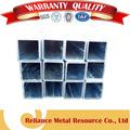 revestimento de zinco da liga de aço galvanizado perfil quadrado