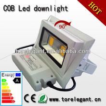 adjustable rectangular recessed LED downlight