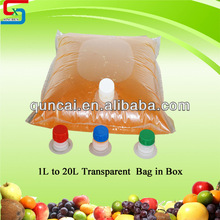 Transparent Oil/Water packaging bag in box