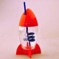 china sedex fábrica personalizado 300ml crianças de plástico pe garrafa de água com o fabricante de palha