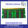 ETT original chips full compatible ddr2 sd memory 2gb