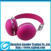 fashion colorful noise canceling bluetooth headphone mic
