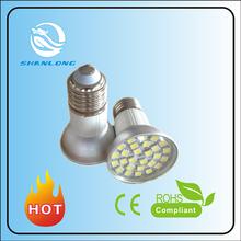 Mr16 Gu10 E27 4W 5W SMD low heat no uv led light bulb