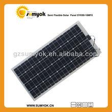 SYK90-18MFX European market handy solar battery charger marine flexible solar panel 90W 12V for motorhome