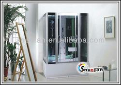 Snuofan spa pool dog bathtubs shower cabinet sliding shower door roller portable walk in bath steam room for sale