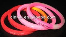 manufacturer custom thin silicone wristband