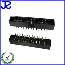 china dongguan high tech component2*13PIN BOX HEADER DOUBLE ROW VERTICAL SMT TYPE.H=7.10mm